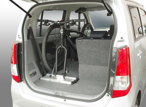 画像 : 自転車を車に積むアイデア みんなの積載方法 軽でも積みたい 積み方のコツ - NAVER まとめ